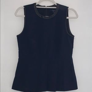 Women's Madewell flare out sleeveless blouse
